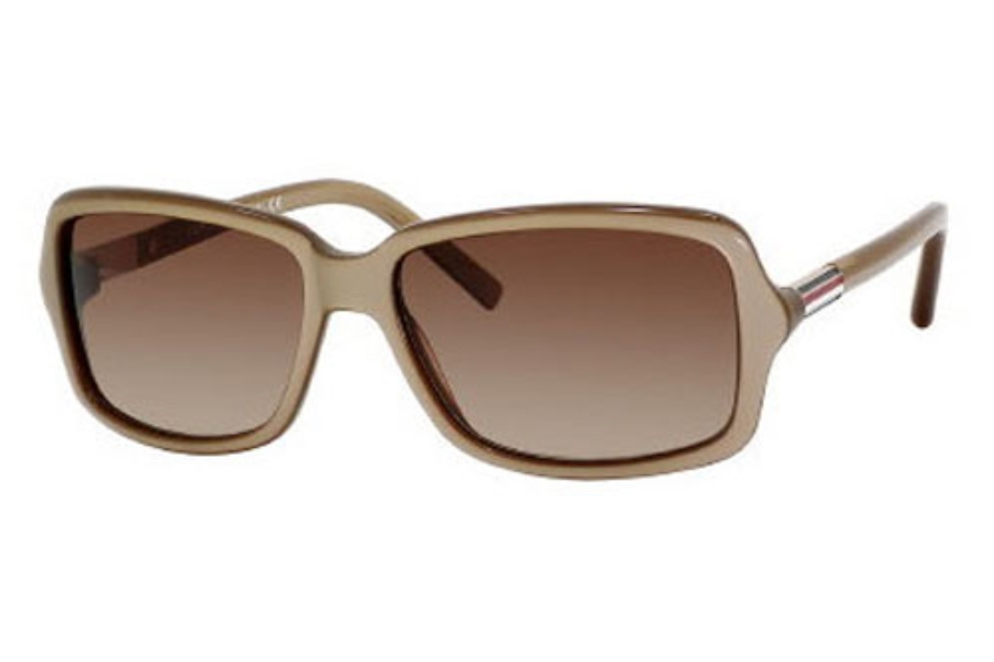 Tommy Hilfiger TH 1000/S Sunglasses in 084A Beige / Gold (D8 brown gradient lens)