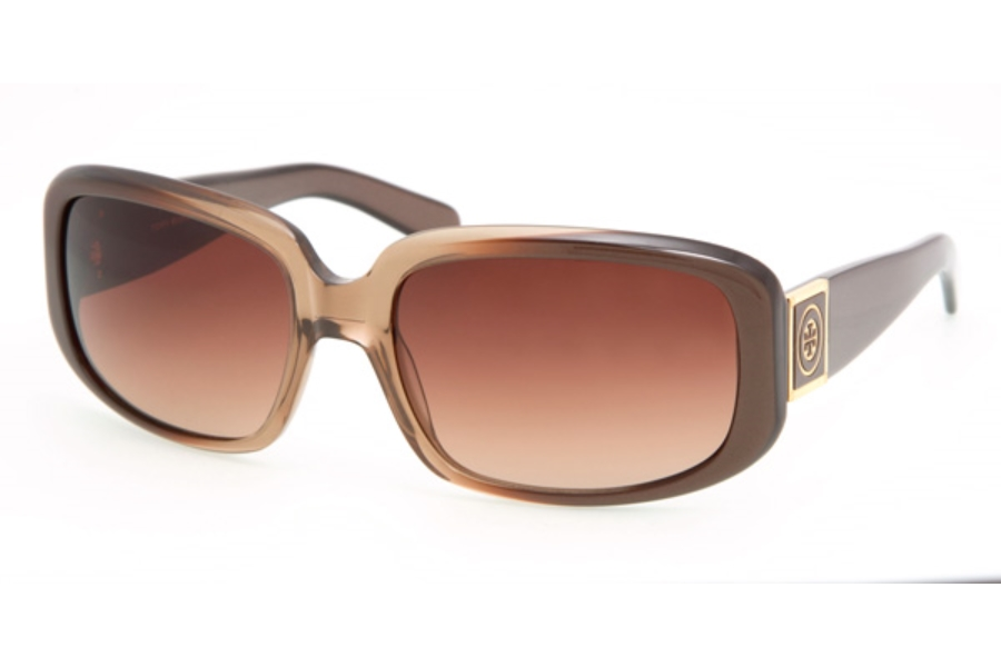 Tory Burch TY7018 Sunglasses in BROWN FADE w/BROWN FADE BROWN GRADIENT LENSES (906/13)