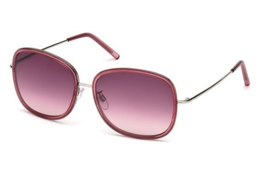 Tod's TO 0047 Sunglasses in 71T Burgundy / Gradient Burgundy Lens