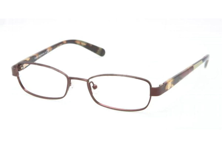 Tory Burch TY1027 Eyeglasses in 147 BURGUNDY DEMO LENS