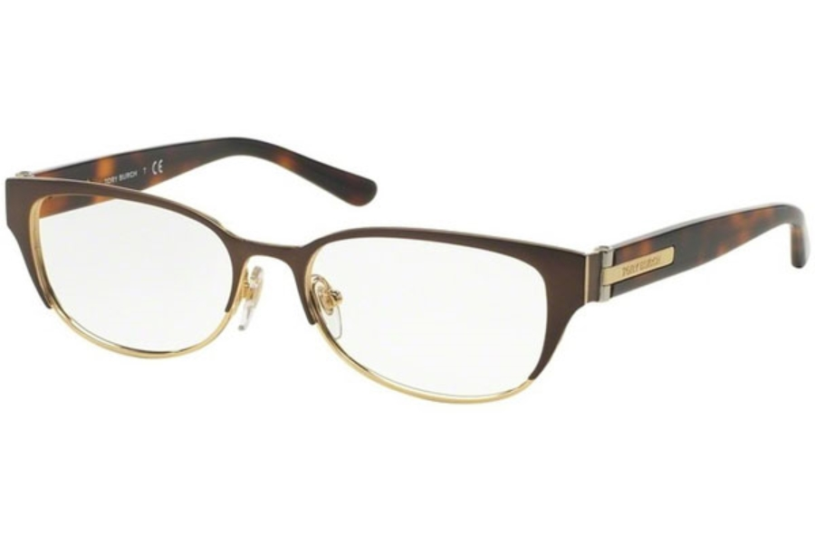 Tory Burch TY1045 Eyeglasses in 3128 Bronze/Soft Dark Tortoise