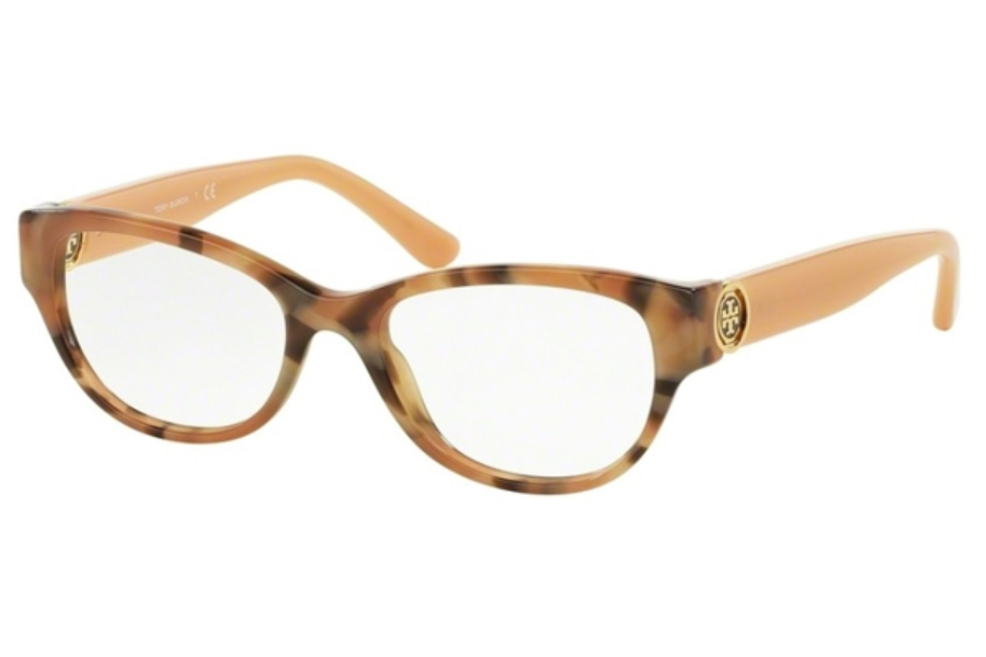 Tory Burch TY2060 Eyeglasses in 3146 Blush Granite/Milky Blush