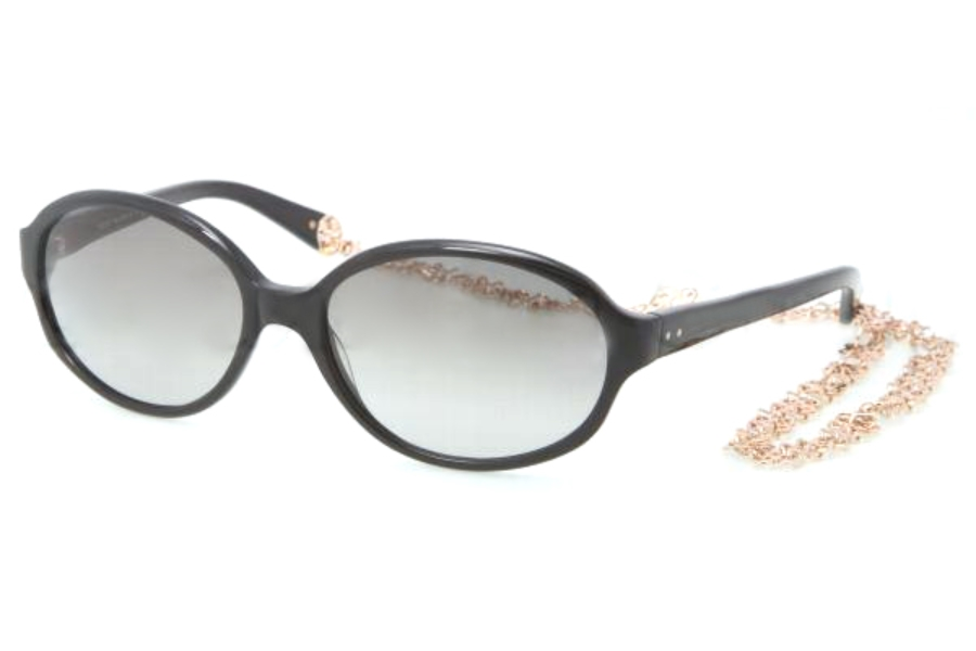 Tory Burch TY7039 Sunglasses in 501/11 BLACK GREY GRADIENT