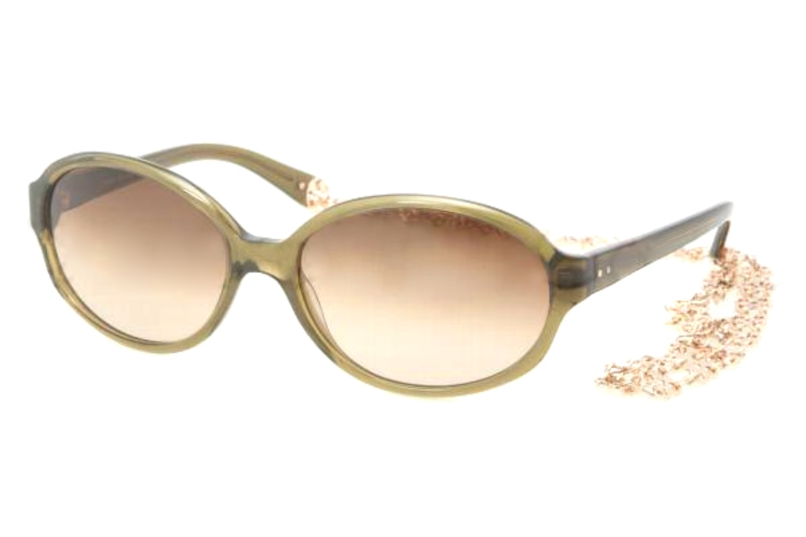 Tory Burch TY7039 Sunglasses in 666/13 OLIVE BROWN GRADIENT