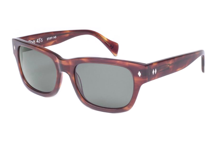 Tres Noir 45's Sunglasses in Classic Tortoise/G15 Lens (Discontinued)