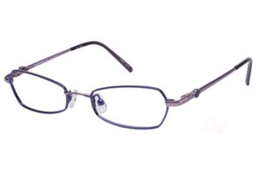 TITANflex M207 Eyeglasses in DARK PURPLE/LIGHT PURPLE