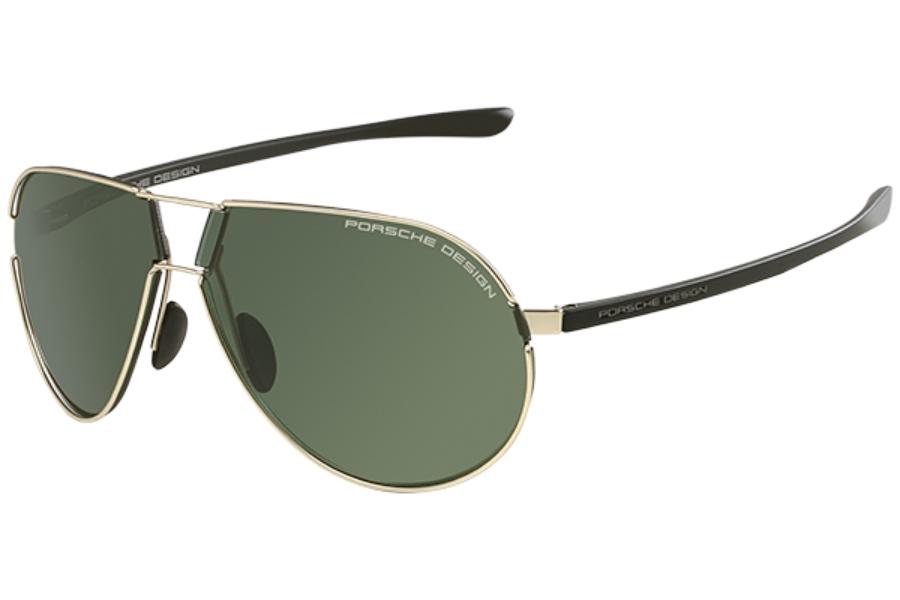 acb4bd8fa1 ... Porsche Design P 8617 Sunglasses in Porsche Design P 8617 Sunglasses  Porsche  Design P 8617 Sunglasses in A Light Gold Green ...