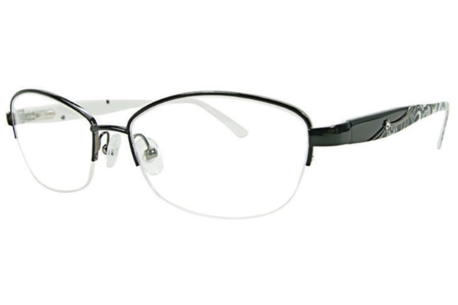 cbd638790f Vera Bradley VB Harriet Eyeglasses in Midnight Paisley ...