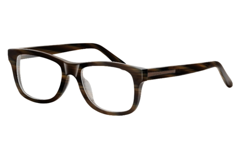 GIVENCHY VGV 753M Eyeglasses in G62 Charcoal Marble Bronze