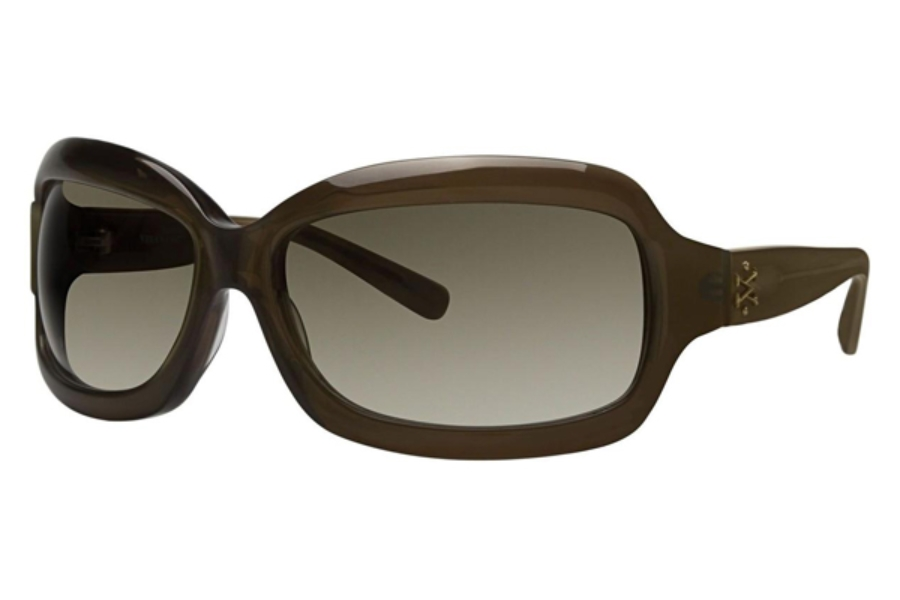 Vera Wang V235 Sunglasses in Olive Metallic