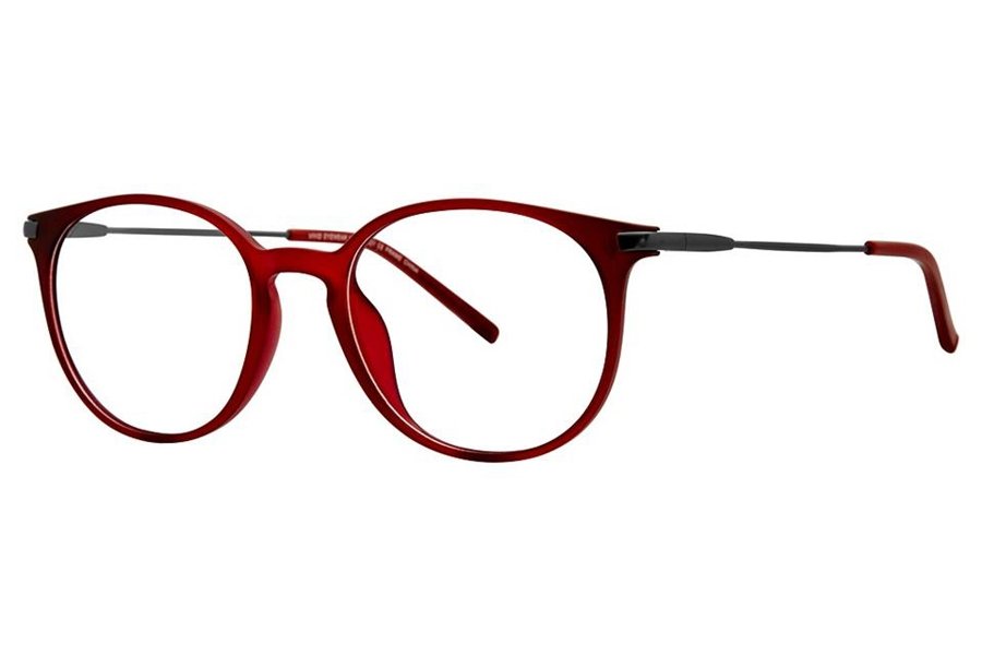 Vivid Ultem 2021 Eyeglasses in Matt Red/Gunmetal