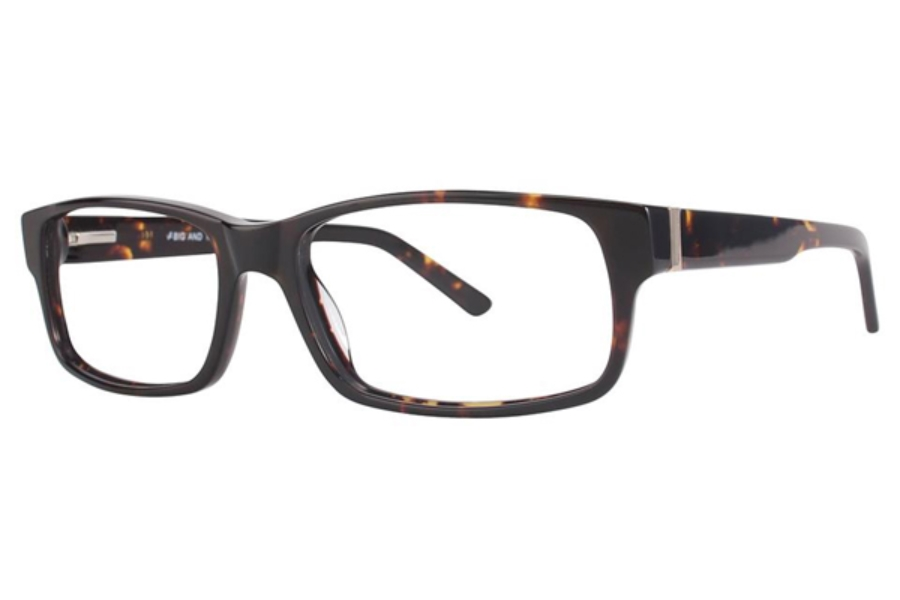 Big and Tall Big and Tall 3 Eyeglasses in Dark Tortoise