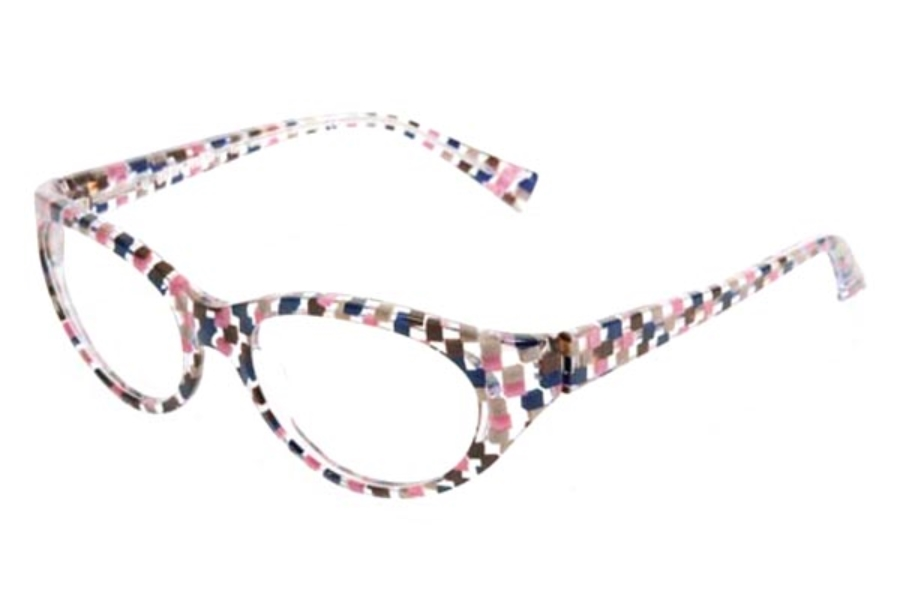 58f7d78944c1b ... Pearly Black  Alain Mikli AL1236 Eyeglasses in B08M Check Pink Navy- Crystal ...