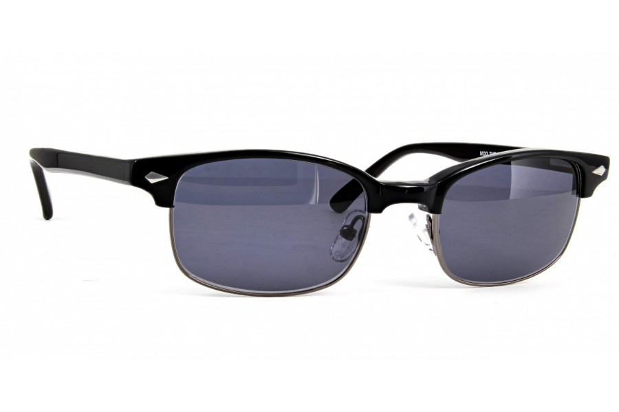 Anglo American The X SG Sunglasses in BLK - Black