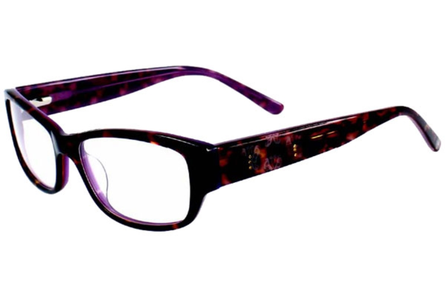 Anna Sui AS518 Eyeglasses in 142 DEMI/PURPLE