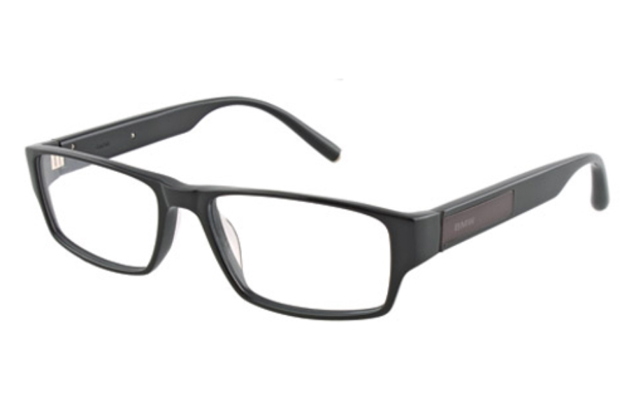 BMW B6002 Eyeglasses in 90 Shiny Black