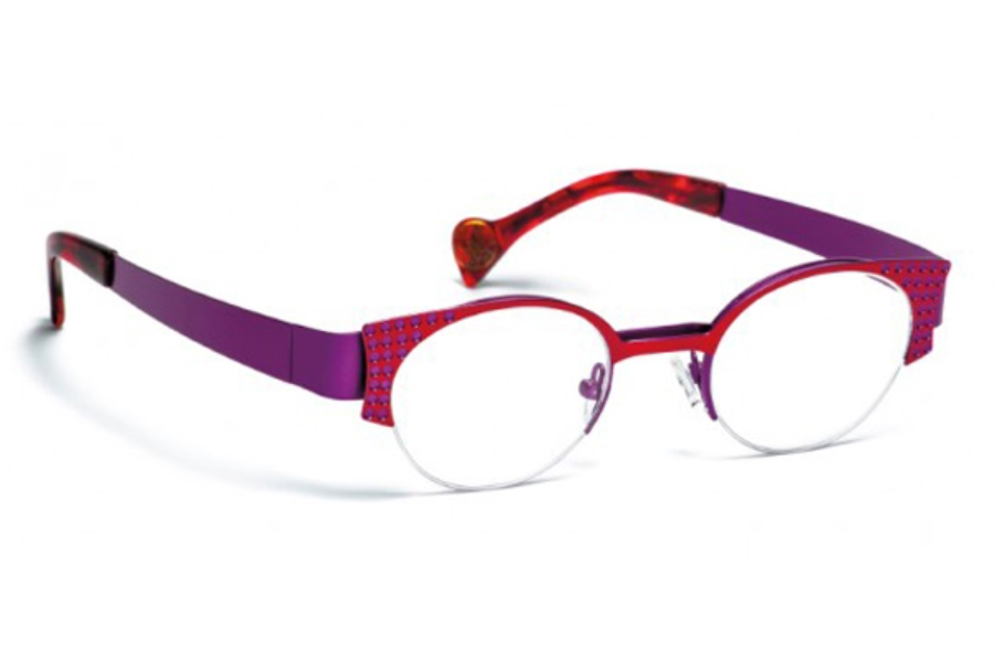 BOZ Willy Eyeglasses in 3083 Rouge/Violet