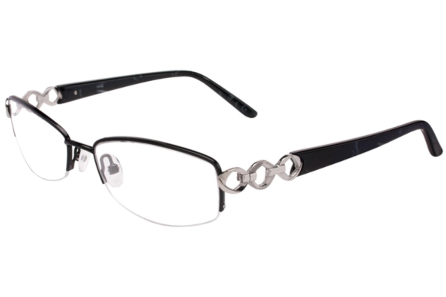 Cashmere Cashmere 442 Eyeglasses in C-3 Black