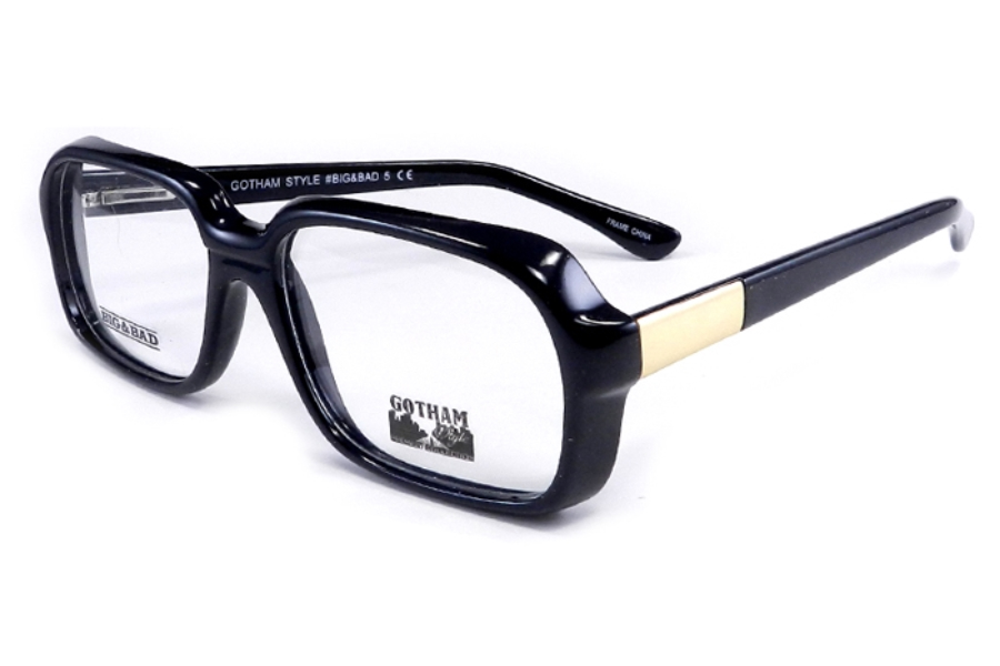 Big & Bad Big & Bad 5 Eyeglasses in Black