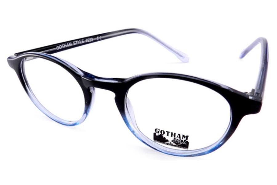 95883c2fd2af1 ... Gothamstyle Gothamstyle 223 Eyeglasses in Black Blue ...