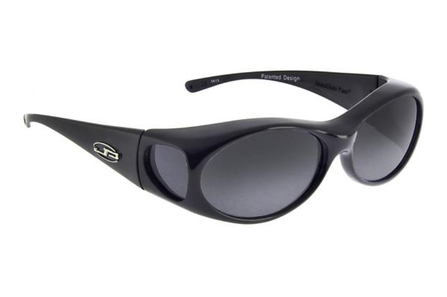 Fitovers Aurora Sunglasses in AR001 Midnight Oil frame/ Polarized Grey lenses