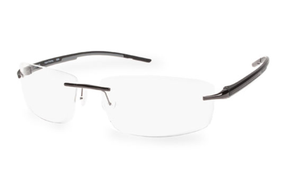 Progear Eyeguard OPT-1103 Eyeglasses in Dark Gun Shiny / Black Matte