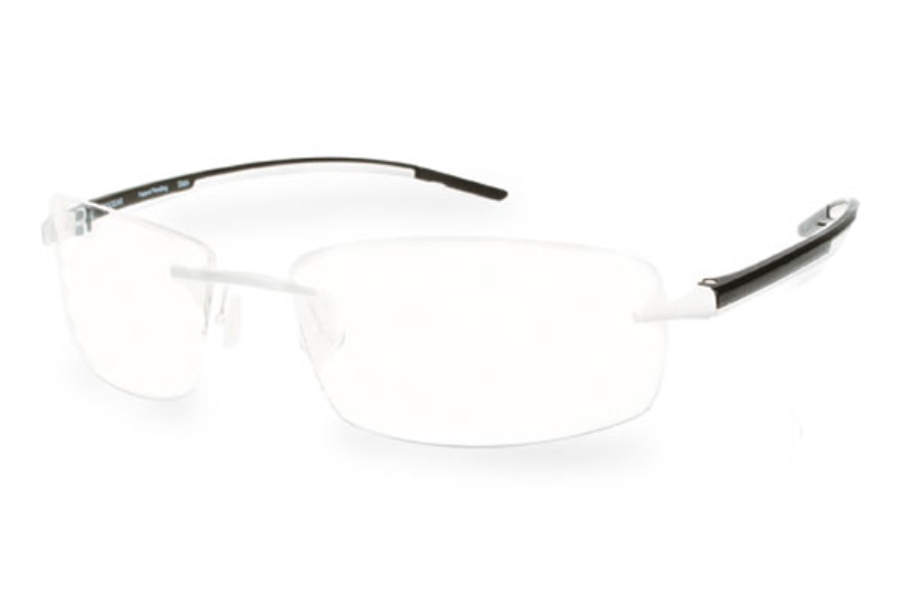 Progear Eyeguard OPT-1103 Eyeglasses in White Matte / Black Matte