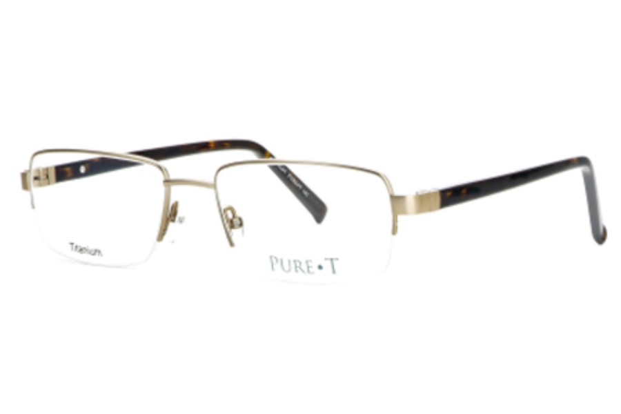 Pure T T101 Eyeglasses in Tan