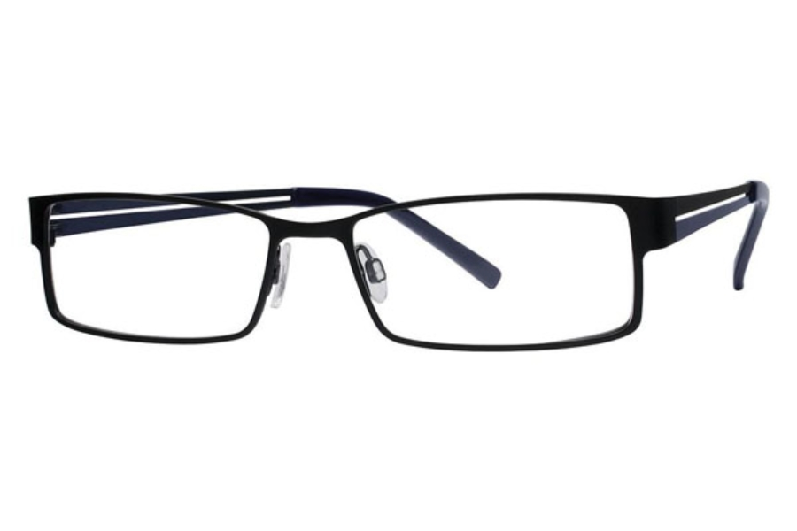 Randy Jackson Randy Jackson 1015 Eyeglasses in 021 Black/Blue