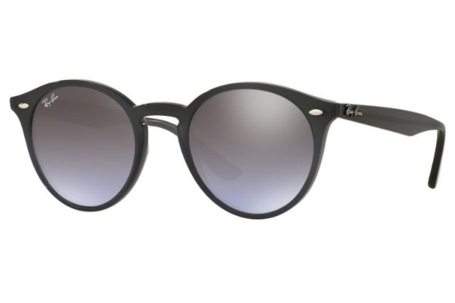 Ray-Ban RB 2180 Sunglasses in 623094 Opal Grey / Violet Grad Brown Mirror Silve (49 Eyesize Only)