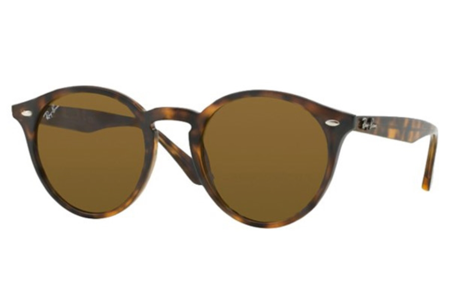 Ray-Ban RB 2180 Sunglasses in 710/73 Dark Havana Dark Brown
