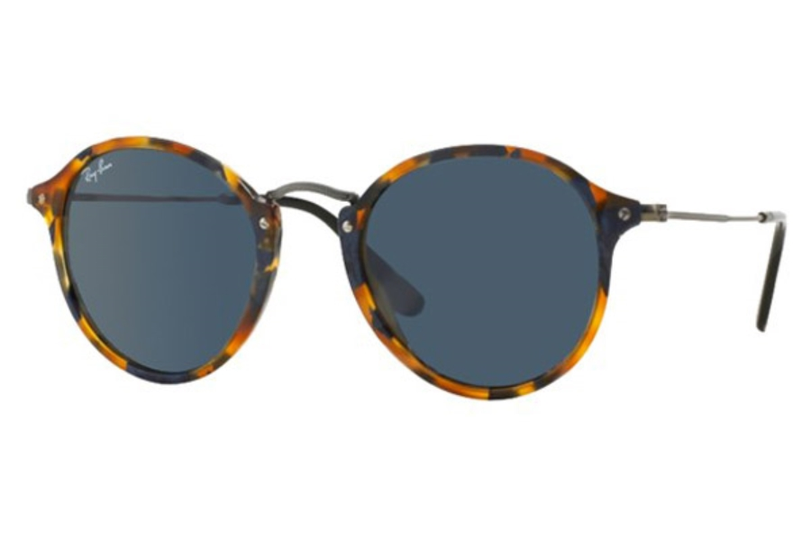 Ray-Ban RB 2447 Sunglasses in 1158R5 Spotted Blue Havana Grey (49 eye size only)
