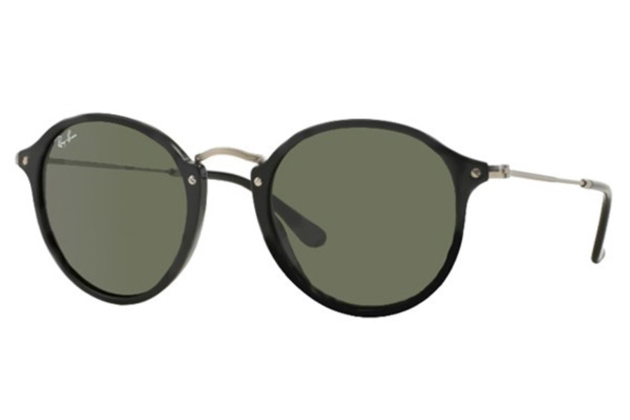 Ray-Ban RB 2447 Sunglasses in 901 Black Green