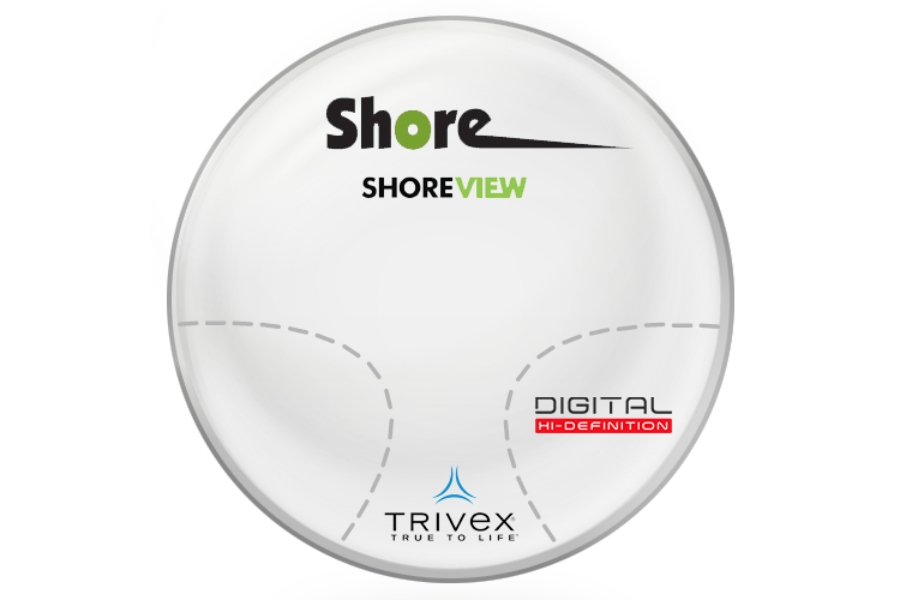 Shore View Digital Trivex Progressive  Lenses in Shore View Digital Trivex Progressive  Lenses