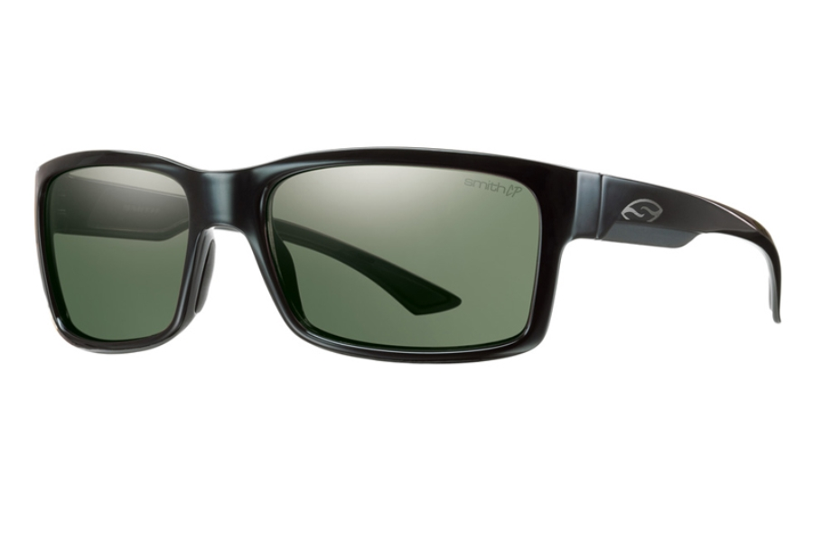 Smith Optics Dolen Sunglasses in 0GDO Black w/ Chromapop Polarized Gray Green Lens