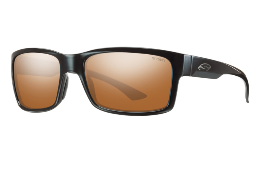 Smith Optics Dolen Sunglasses in Black w/ Polarchromic Copper Mirror Lens