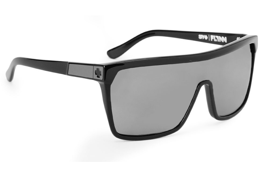 5b57a64b6e ... Spy FLYNN Sunglasses in Spy FLYNN Sunglasses  Spy FLYNN Sunglasses in Black  w  Matte Black Grey Lenses  Spy FLYNN Sunglasses in Black   White ...