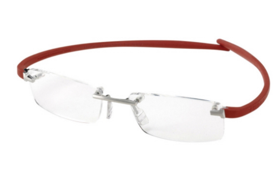 d8d83633a7a4 Tag Heuer 3744 Eyeglasses in 004 Pure   Red Temples ...