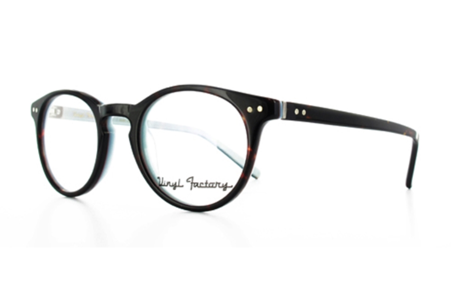 814f140634 ... Vinyl Factory Gaye Eyeglasses in C3 Black White ...