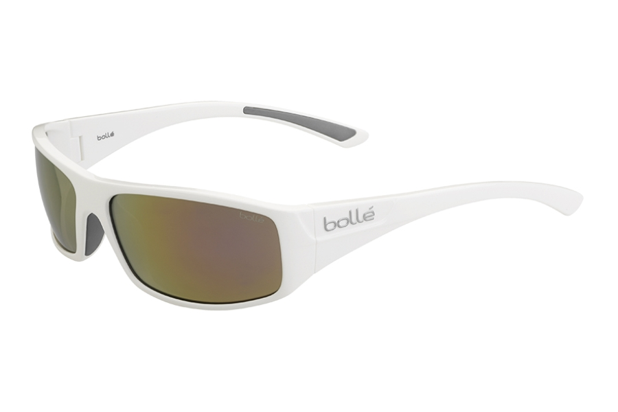 Bolle Weaver Sunglasses Polarized Inland Gold Oleo AR Lens Matte Brown NEW